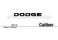 Dodge Caliber Owner`s Manual