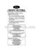 Ford Crown Victoria Owner`s Manual