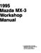 Mazda MX-3 Workshop Manual